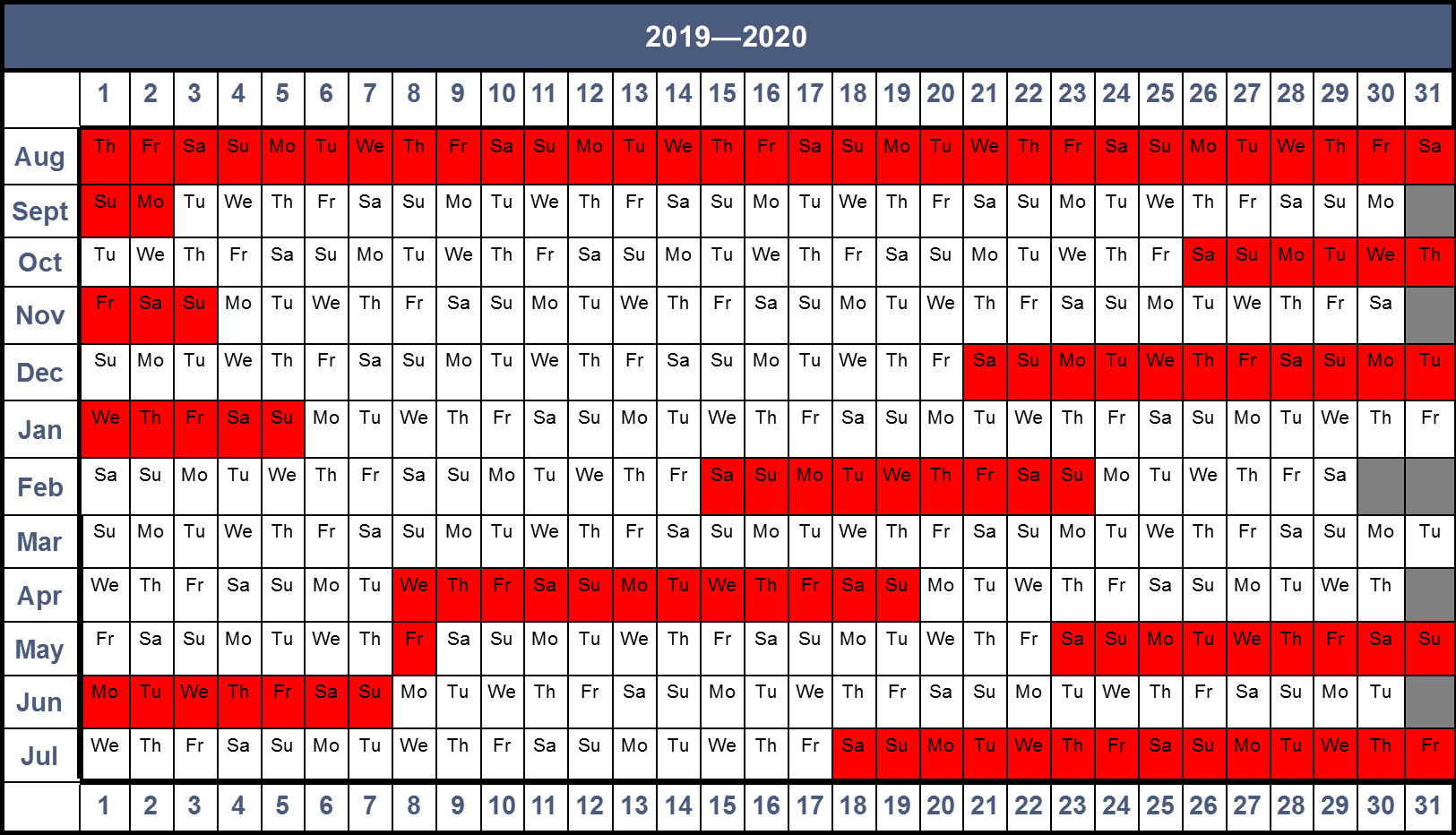 Term Dates – Holy Name Catholic Primary School